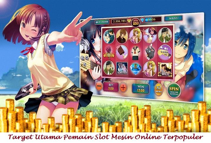 Tujuan Utama Pemain Slot Mesin Online Terpopuler